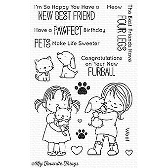 My Favorite Things New Best Friend Clear Stamps