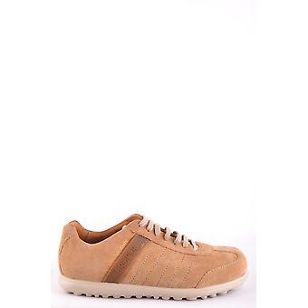 Camper Ezbc250005 Men's Beige Suede Sneakers