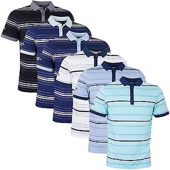 Callaway Mens New Stripe Golf Polo Shirt