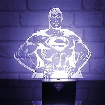 DC Comics Superman herói luz