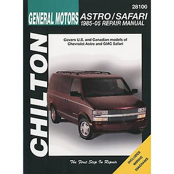 Chevrolet Astro/Safari Automotive Repair Manual - 1985-05 by Kevin M G