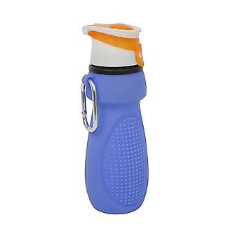 Yellowstone Silicone Roll Up Sports Bottle