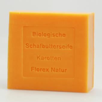 Florex biologique mouton beurre savon-carotte-naturel parfum expérience 100 g