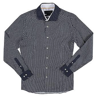 Duchamp of London Florette Contrast Shirt