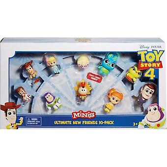 Toy Story 4 - Mini Figury Ultimate New Friends 10-Pack