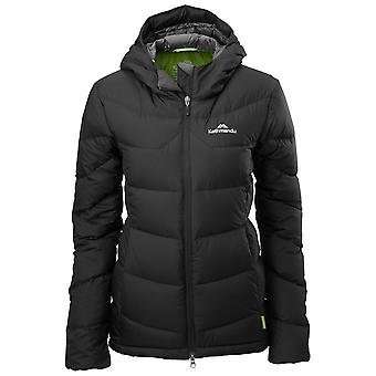 Kathmandu Black Womens Epiq Hooded Down Jacket
