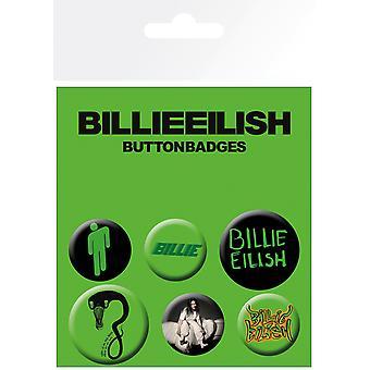 Billie Eilish Mix Abzeichen Pack