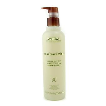 Aveda Rosemary Mint ręki idealna do mycia ciała 250ml / 8. 5 oz