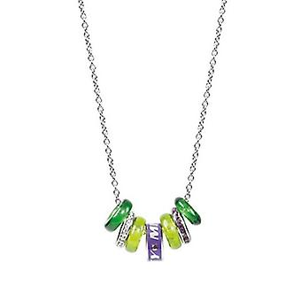 Miss Sixty Precious Seven Green Elements Necklace SMGQ10