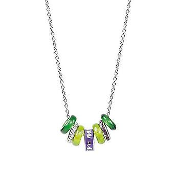 Miss 60 drahých sedem zelených prvkov náhrdelník SMGQ10