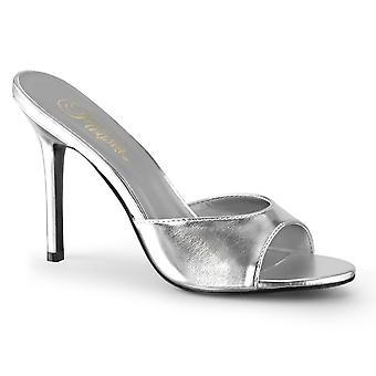 Pleaser Damen's Schuhe CLASSIQUE-01 Slv Metallic Pu