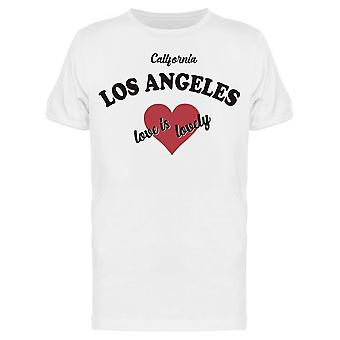 Los Angeles Love Tee Men's -Image by Shutterstock