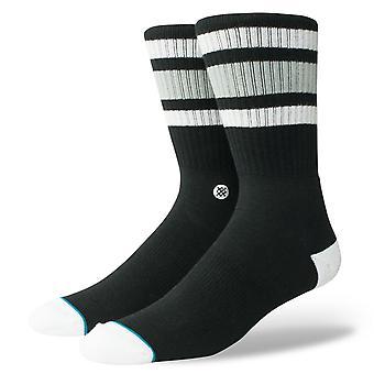 Stance Uncommon Solids Mens Socks ~ Boyd 4  black (size L)