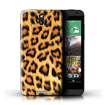 STUFF4 Case/Cover for HTC Desire 610/Leopard/Animal Fur Pattern