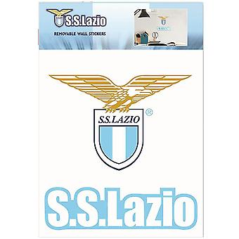S.S. Lazio Official Wall Stickers (Pack Of 2)