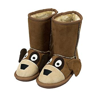 LazyOne Childrens/Kids Dog Toasty Toez Slippers
