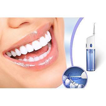 TECHNOSMART 5 V bateria profissional chuveiro oral, flosser de água elétrica, limpeza para os espaços do dente e gengivas, com bico de jato, em vão, recarregável