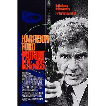 Patriot jogos (1992) poster original do cinema