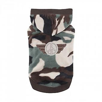 Puppia Corporal Dogs Hoodie Top