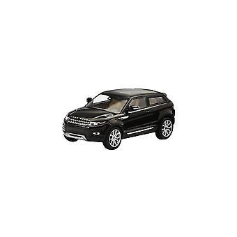 Modèles IXO Ixo Modèles Land Rover Evoque Santorini Black 1:43 Modèle de concessionnaire