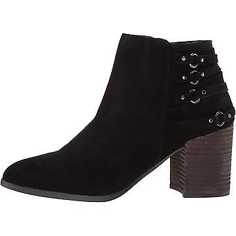 Fergie Women's Boston Ankle Boot, Black, 5 M US