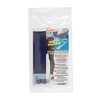 Marbet MB121.015 | Stretch Jersey Fabric | Iron-On | 20 x 15cm | Mid Blue
