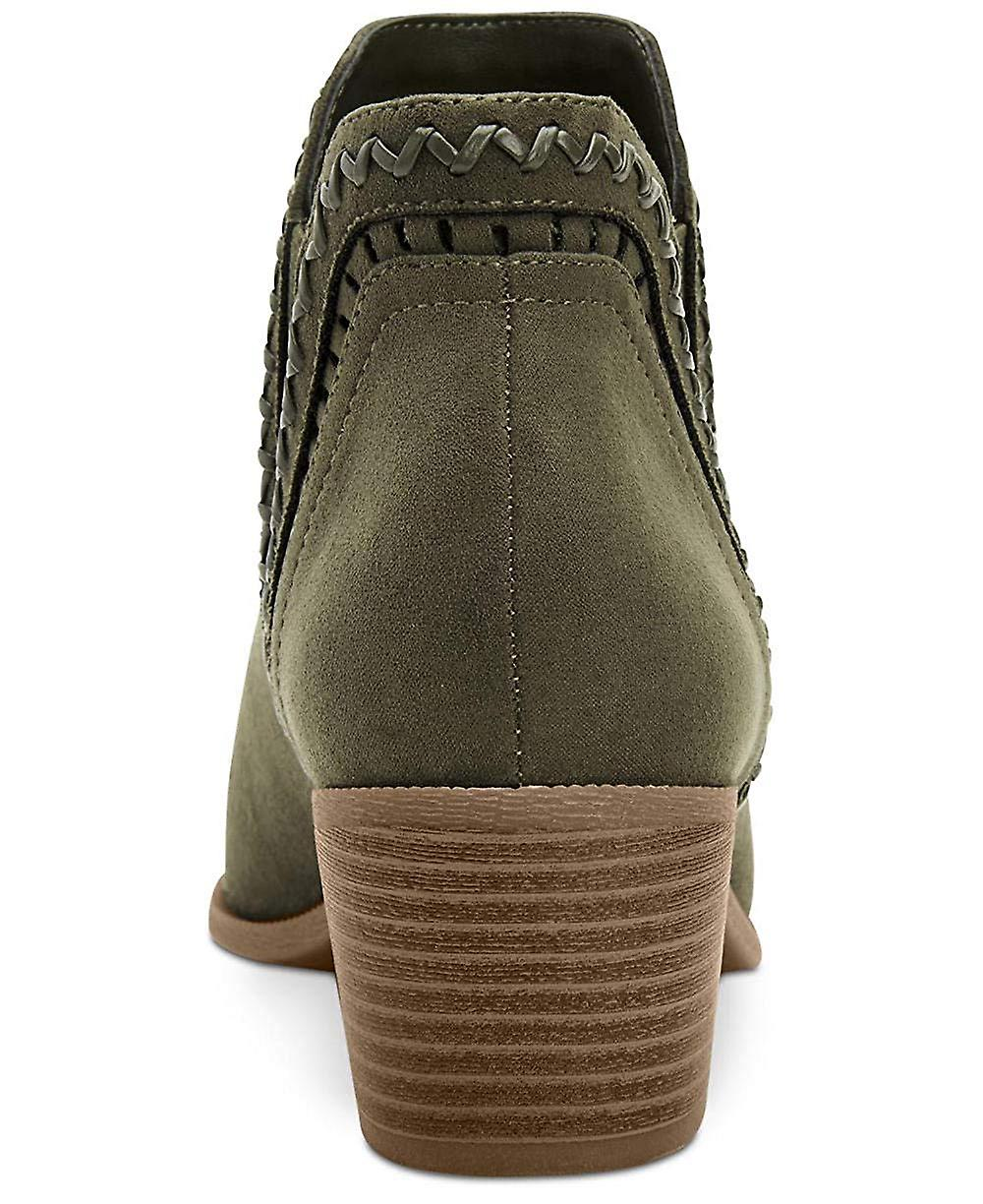 Style et Cie. Femmes 'apos;s Meridaa Ankle Booties Peat Green 7M - Remise particulière