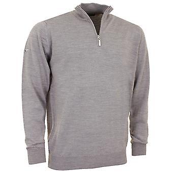 Greg Norman Mens 1/4 Zip Unlined Merino Blend Golf Sweater