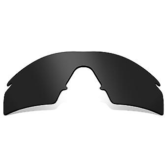 Polarized Replacement Lenses for Oakley M Frame Strike Frame Black Anti-Scratch Anti-Glare UV400 by SeekOptics
