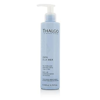 Thalgo Eveil A La Mer Micellar Cleansing Water (face & Eyes) - For All Skin Types Even Sensitive Skin - 200ml/6.76oz