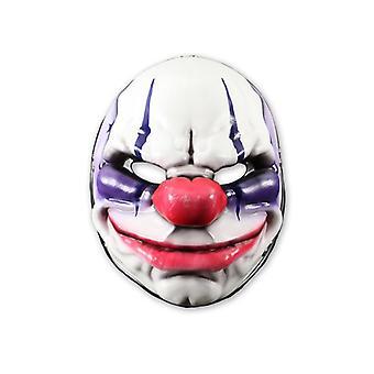Payday 2 masker ketens kleurrijke, gedrukt, gemaakt van vinyl.