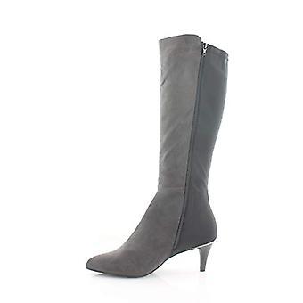 الفاني المرأة Hakuuf الجلود مغلقة تو الركبة أحذية الأزياء الراقية