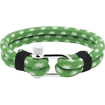 Ratsche B35088001 - Nylon grün schwarzer Mann Winde Stahl Armband
