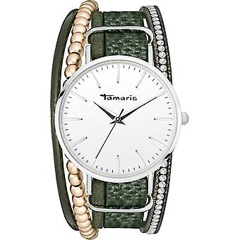 Tamaris - Wristwatch - Women - TW103 - silver, green