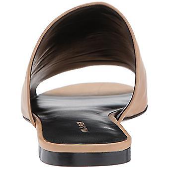 Via Spiga Women's Heather Slide Sandal, Desert Leather, 12 M US