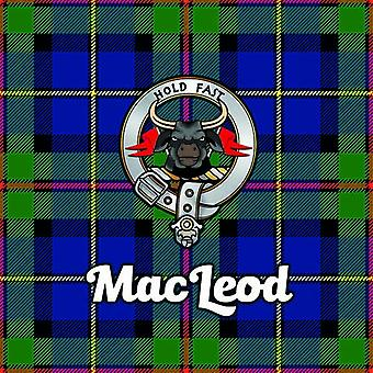 Art2Glass Tartan Clan Coaster - Macleod