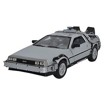 Back to the Future 1:24 Scale Die-Cast DeLorean Replica