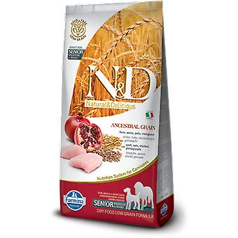 Farmina N&D Low Ancestral Grain Senior Mini & Medium Chicken and Pomegranate