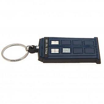 Doctor Who Classic Tardis Keyring