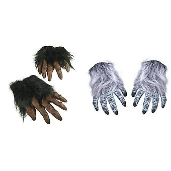 Bristol Novelty Unisex Adults Hairy Hands (1 Pair)