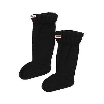 Hunter Uas3036 Women's Black Cotton Socks