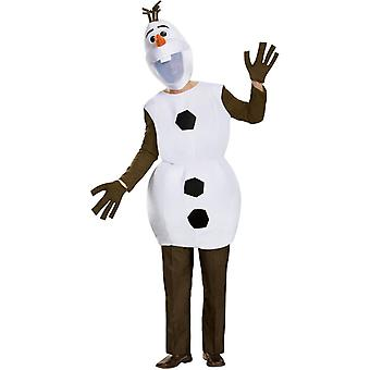 Frosne Olaf Adult kostume