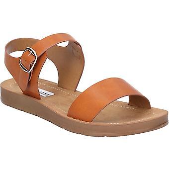 Steve Madden Womens Probable Flat Comfortable Summer Sandals