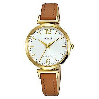 LORUS analogique quartz mens watch avec cuir RG228NX9