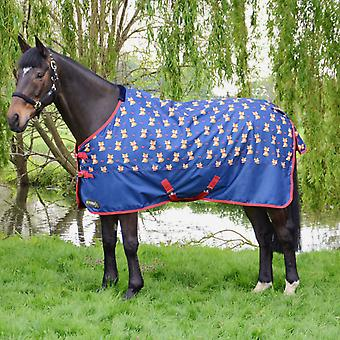 Hy StormX Original Fraser the Fox 100 Turnout Rug