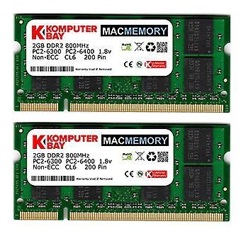 KB_MASTER_SODIMM_800 4GB (2x 2GB) 800MHz SODIMM أبل