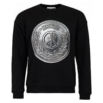 Moschino Couture Moschino Shield Logo Sweater