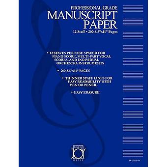 HOUSE OF JOY MUSIC DELUXE 12STAFF MANUSCRIPT PAPER by JOY & KEN