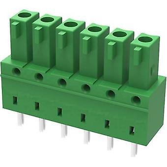 Degson Pin kapsling - PCB 15EDGB Totalt antal stift 6 Kontaktavstånd: 3,81 mm 15EDGB-3,81-06P-14-00AH-1 1 st(ar)