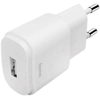 Cargador Hama 1.2 183262 Cargador USB Toma de red Máx. corriente de salida 1200 mA 1 x USB